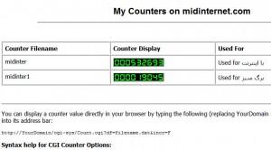 midin-counters