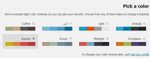 Pick-a-color